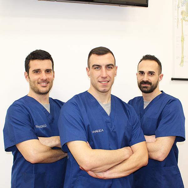 Gianluca, Francesco e Andrea