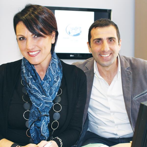 Cristiana e Gabriele Pizzi